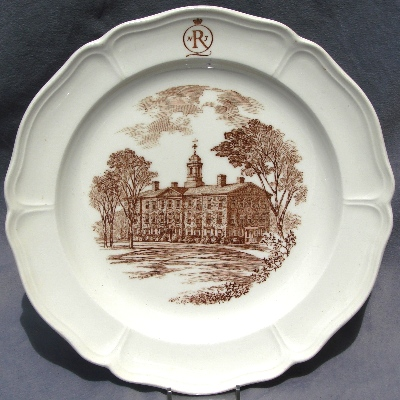 & Wedgwood College Plates